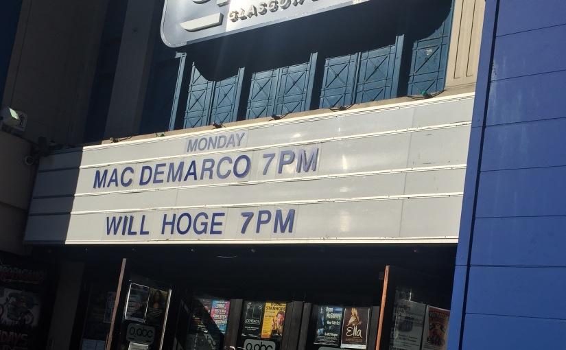 Review: Mac DeMarco @ O2 ABC – 7thSeptember