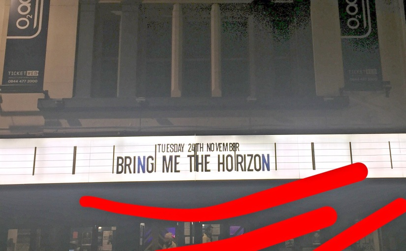 Review: Bring Me The Horizon, O2 Academy, Glasgow – November 24th 2015