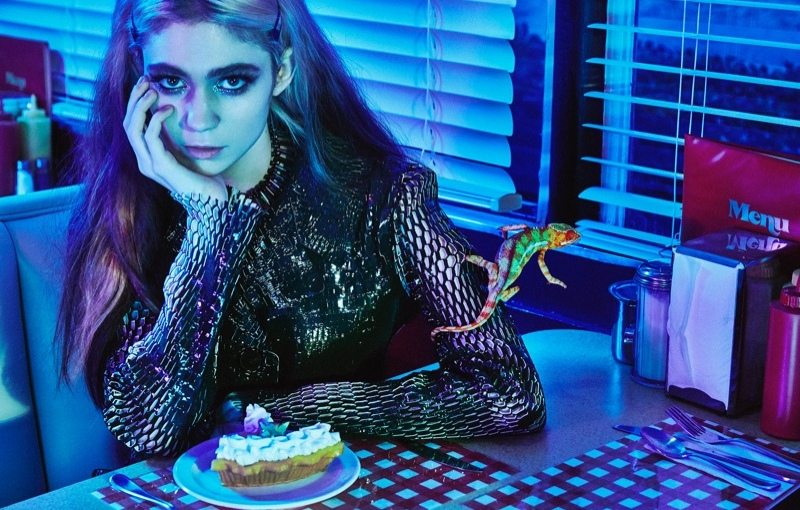 "Grimes New Album Is Halfway Done And Full Of ""Synth-y Shit"""