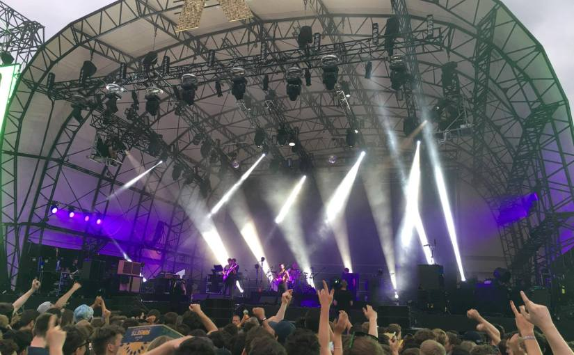 GIG REVIEW – Getting a Concussion and Fractured Vertebrae @ Foals, Citadel Festival,London