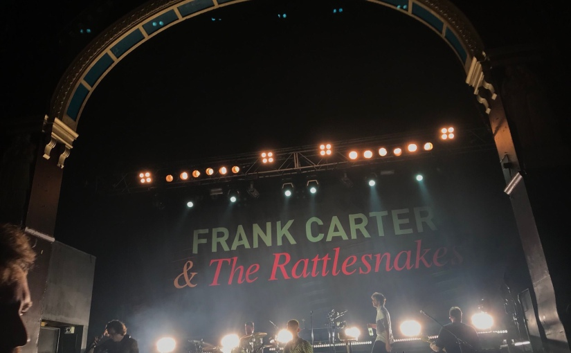 Gig Review: Frank Carter & The Rattlesnakes @ O2 Insititue, Birmingham