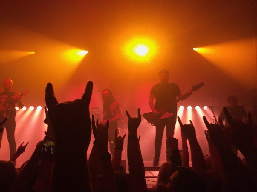 While She Sleeps gig 2