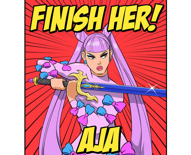 Aja is out to kill on new track 'Finish Her'